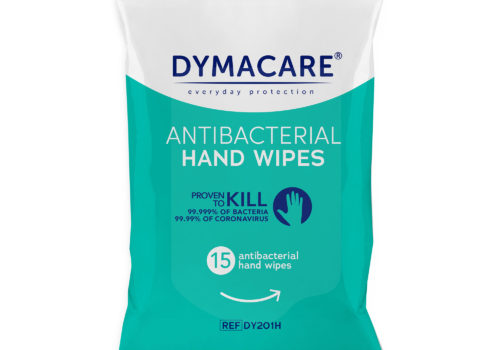 Dymacare® Antibacterial Hand Wipes